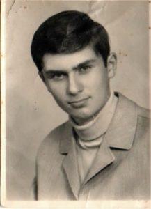 Der junge Soldat Heinz Cecil im Jahr 1973
